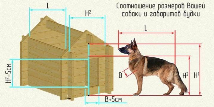 Будка для собаки своими руками размеры утепление