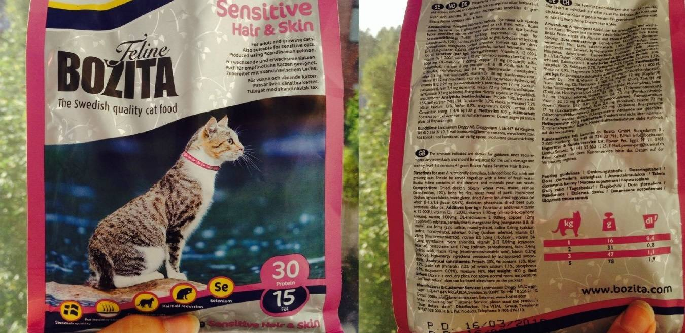 Бозита корм для кошек качество thumbnail